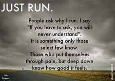 Running, running, running...