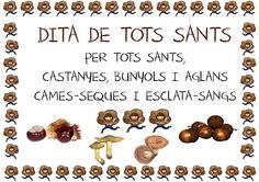 Dita de TOTS SANTS