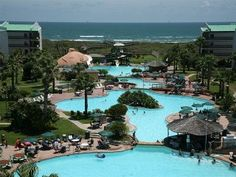 Corpus Christi Condo Al Beautiful Island Resort On Gulf Of Mexico Port Aransas