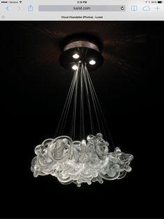 Cloud chandelier by Stonegate Designs