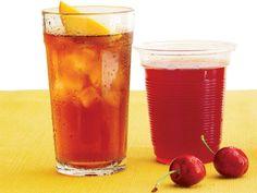 The Republic of Tea Iced Tea and Cheribundi http://www.prevention.com/food/healthy-eating-tips/20-healthy-drink-options/republic-tea-iced-tea-and-cheribundi