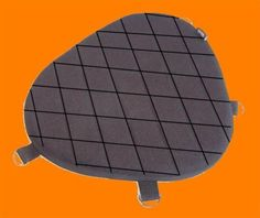 Motorcycle driver gel pad for harley davidson CVO  #sturgismidwestinc