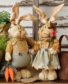 Kountry Kousins - Bunny Couple / Set of 2