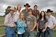 i have been watching the shows on up channel and also on dvd I love the cast of this show they are more like a big family