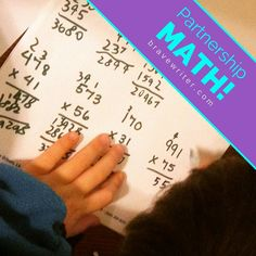 Math Brave Writer Style