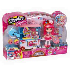 New #Shopkins Shoppies Donatina Playset!