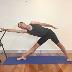 One of the 12 yoga poses for easing Osteopenia, Osteoporosis, or just keeping the bone health that you have! I use this pose with my private yoga for bone health clients! Yoga with Gail Yoga Poses For Men, Easy Yoga Poses, Yoga For Men, Yoga Man, Kid Yoga, Chair Yoga, Restorative Yoga, Types Of Yoga, Iyengar Yoga