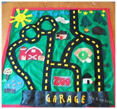 Him & Her: Ty's Christmas present #1 car mat