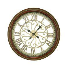 "Uma 24"" Metal Wall Clock - Beyond the Rack"