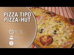 Pizza tipo Pizza-Hut - Receita Dona Bimby / Thermomix