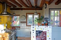 Kitchen in a french country house