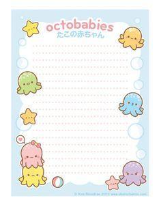 Cute & Kawaii Printables on Pinterest   Kawaii, Little Twin Stars ...