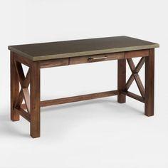 Wood Farmhouse Desk - v1