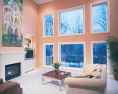 Inside View Of Milgard Tuscany Bay Window With Internal
