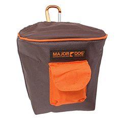 HUnde Zubehör MAJOR DOG 33016 Futtertasche uni mit Stretch-Öffnung für Leckerlies und kleiner Extratasche