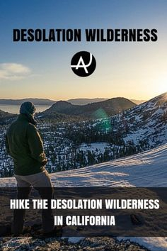 Desolation Wilderness. One of the most spectacular hiking areas around Lake Tahoe in California. A real paradise for hikers and nature lovers