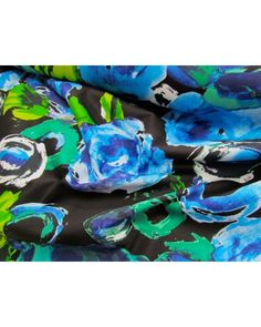 Floating Flowers at Night Sateen - $12.95