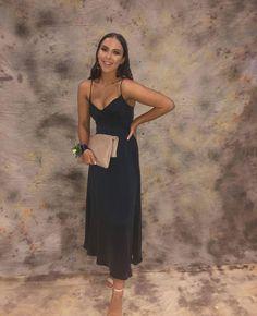 A-line spaghetti straps tea length prom dress , sexy prom dress CR 2197 Hoco Dresses, Ball Dresses, Prom Dress, Formal Dresses, Dress For You, Dress Up, Elegant Outfit, Formal Wear, Tea Length