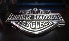 Harley Davidson Car Bike MotorCycle 3D Chrome Badge Logo Badge