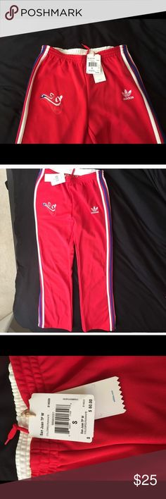 Puerto Rico San Juan adidas pants New adidas pants, only tried on. Reposting because they didn't fit. Would better fit a small/medium Adidas Pants