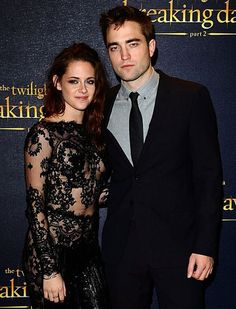 Robsten Dreams: Robsten Pic of the Day ~ Our royalty looking stunning! -- BD2 Premiere London, Nov 2012