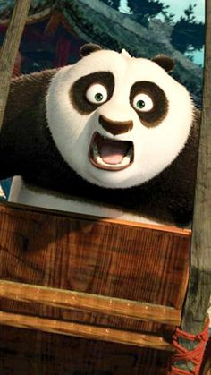 Kung Fu Panda surprised - Tap to see more funny stuff for a laugh wallpapers! Kung Fu Panda, Fb Cover Photos, Fb Covers, Dreamworks, Animated Gif, Funny Stuff, Character Design, Poetry, China