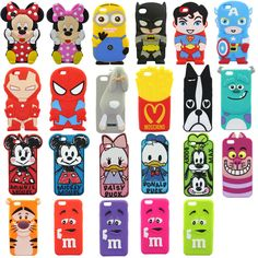Disney CARTOON Silicone Case Cover for 4 7 inch Iphone 6 cellphone Child Coque Ipod, Coque Smartphone, Cute Cases, Cute Phone Cases, Iphone Phone Cases, Iphone 5s, Phone Cover, Apple Iphone 6, Coque Samsung J3 2016