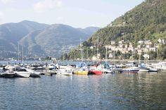 Como lake in spring. Italy 2016.