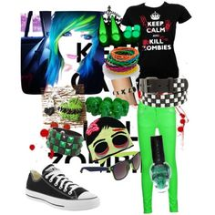 scene outfits polyvore | Zombie! Scene Outfit! - Polyvore