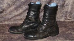Vintage US Military Distressed Saftey Toe Combat by Articles72