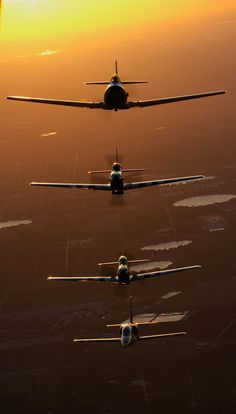 Sunset Formation, photo by...Bob Herald