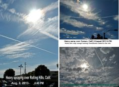 Chemtrails / GeoEngineering: the Greatest Crime of All Time.... and Here's the Evidence~ By Dr. Ilya Sandra Perlingieri~  Guest Writer for Wake Up World~  Photos: John Graf~  This article is dedicated to the courageous people around our planet who have spoken out and written about these crimes. In the ultimate sacrifice, some have given their lives to report the TRUTH.