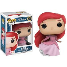 Figurine POP Disney Ariel avec robe