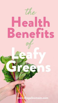 My new article this week is about all the awesome benefits of leafy greens. In fact, of all veggies, leafy greens have some of the strongest effects on disease risk. Fresh Vegetables, Veggies, Kale Juice, Mineral Nutrition, Paleo Mom, Turnip Greens, High Fat Diet, Leaky Gut, Proper Nutrition