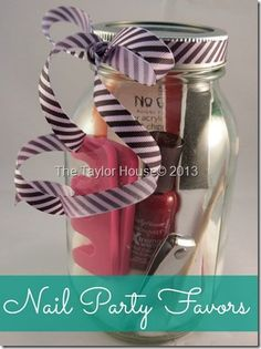 Creating a Fun and Easy Nail Party Favor : Gift Ideas