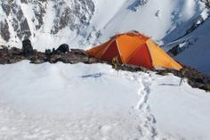 When it comes to setting up a winter camp site, these five basics will help you enjoy this sometimes challenging season. Outdoor Survival, Outdoor Gear, Survival Tips, Winter Camping, Just Go, Tent, Places To Go, Adventure, Outdoors