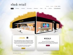 eLush Retail by ~armanique #webdesign #trend