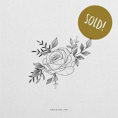 Peony Rose, Peony Flower, Flower Art, Flower Tattoo Designs, Flower Tattoos, Freedom Bird, Botanical Line Drawing, Butterfly Mandala, X Tattoo