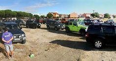 Una vez más el club Bitoma 4x4 convocaba a los aficionados al 4x4 a una jornada de encuentro, que pese a la lluvia, reunió a más de medio centenar de vehículos en la madrileña localidad de Torrejón de la Calzada.
