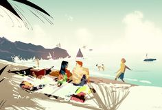 Another Summer Day by Pascal Campion