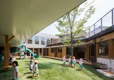 Galeria de Creche Infantil TAKENO / Tadashi Suga Architects - 10