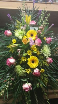 A whiting flower shop in whiting nj floral funeral wreath floral tribute mightylinksfo