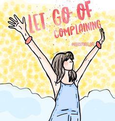 Let go of complaining / 24 horas sem reclamar pode mudar sua vida #zen