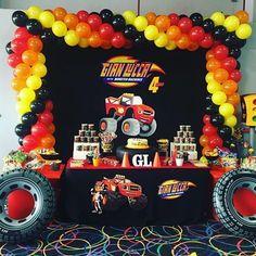 Es momento de llenarnos de adrenalina con unas lindasIdeas para fiesta de Blaze and the monster machines, que te garantizo le van a encantar a tu pequeño