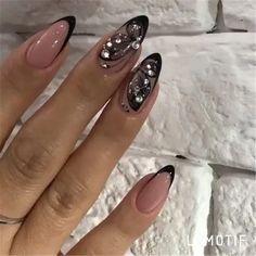 19 fabulous pink nail art designs ideas that looks cool 18 Nail Designs Pictures, Short Nail Designs, Fall Nail Designs, Cute Nail Designs, Almond Acrylic Nails, Cute Acrylic Nails, Cute Nails, Pretty Nails, Pink Nail Art