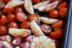 Culy Homemade: easy peasy geroosterde tomatensaus (voor over de pasta) - Culy.nl