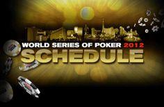 Schema WSOP 2012