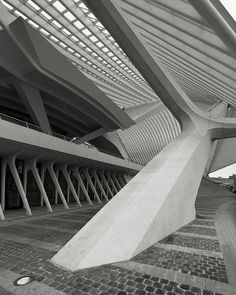 TGV Train Station Guillemins, Liege, Belgium, by Santiago Calatrava /via schromann, flickr