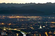Turin from Superga 2 by Luca Biolcati Rinaldi on 500px