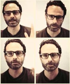 Seriously...With those glasses.. nom nom Andy ;-)